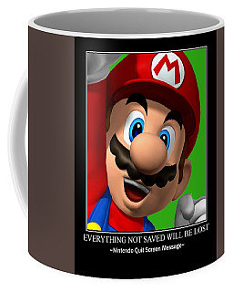 Super Motivational Coffee Mug by Paul Van Scott