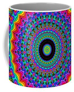 Super Rainbow Mandala Coffee Mug