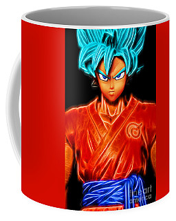 Super Saiyan God Goku Coffee Mug
