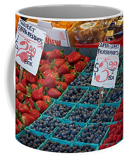 Super Sweet Blueberries Coffee Mug