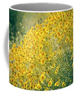 Superbloom Golden Yellow Coffee Mug by Amyn Nasser