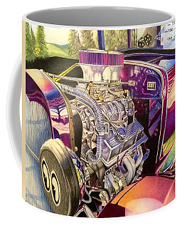 Supercharged Antique 1931 Ford Coupe  Coffee Mug