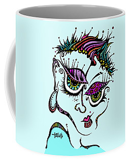 Superfly Coffee Mug by Tanielle Childers