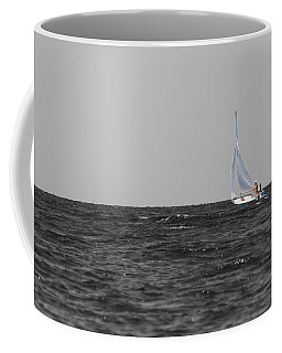 Coffee Mug featuring the photograph Superior Sailing by Dylan Punke