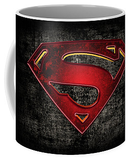 Superman Logo Digital Artwork Coffee Mug