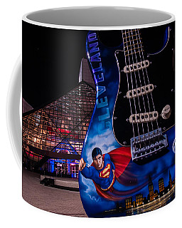 Superman Rocks Coffee Mug