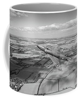 Supermarine Swift F4 Climbing Bw Version Coffee Mug by Gary Eason
