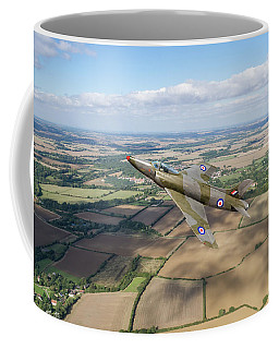 Supermarine Swift F4 Climbing Coffee Mug by Gary Eason