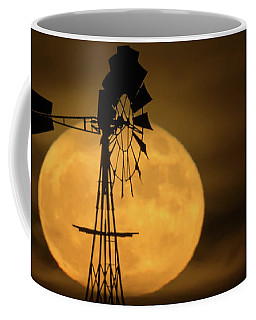 Supermoon Rise 4  11-14-2016 Coffee Mug by Ernie Echols
