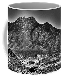 Four Peaks From Lost Dutchman State Park Coffee Mug