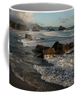 Surf At Crescent Beach Coffee Mug