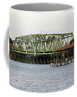Surf City Swing Bridge Coffee Mug