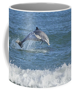 Surf Dolphin Coffee Mug