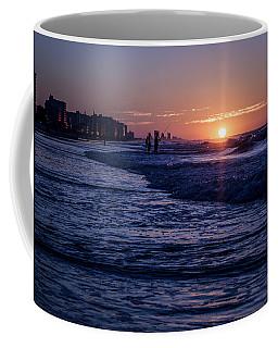 Surf Fishing At Sunrise Coffee Mug