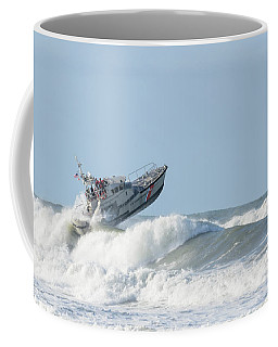 Surf Rescue Boat V2 Coffee Mug