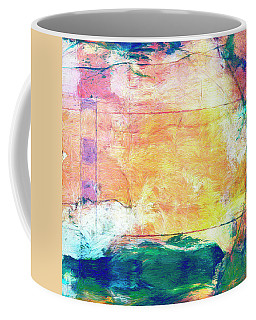 Coffee Mug featuring the painting Surface Vector by Dominic Piperata