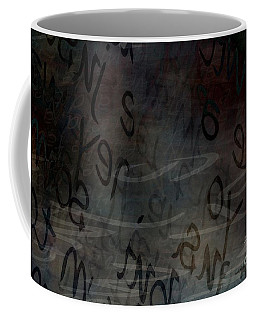 Surfacing Words Coffee Mug