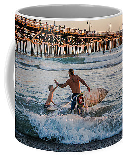 Surfboard Inspirational Coffee Mug