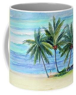 Surfer At Waikiki Coffee Mug
