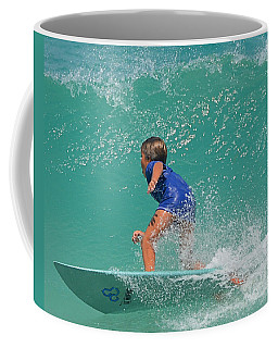 Surfer Boy Coffee Mug by  Newwwman