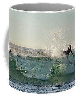 Surfer Carlsbad Jetty Coffee Mug