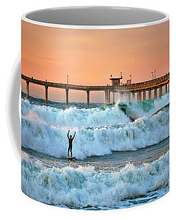 Surfer Celebration Coffee Mug