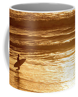 Coffee Mug featuring the photograph Surfer by Delphimages Photo Creations
