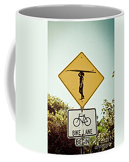 Coffee Mug featuring the photograph Surfer Girl by Ana V Ramirez