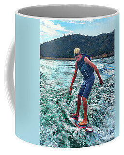 Surfer Tate Coffee Mug