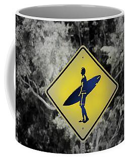 Surfer Xing Coffee Mug