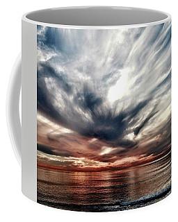 Surfers At Sunset Coffee Mug