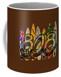 Surfin' 808 Coffee Mug