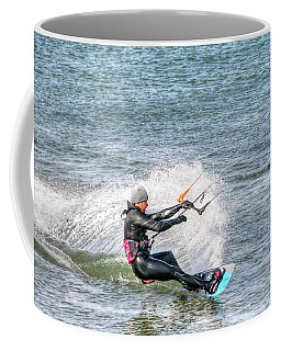Coffee Mug featuring the photograph Surfing by Adrian LaRoque