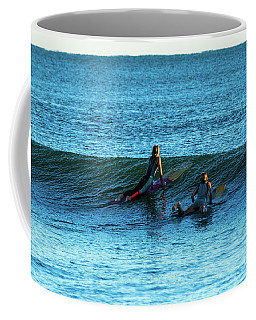 Surfing At  Coffee Mug
