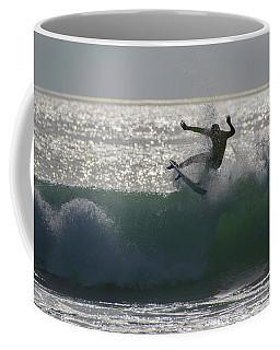 Surfing The Light Coffee Mug