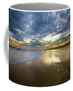 Surf's Up At Rogers Beach Coffee Mug