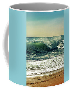Coffee Mug featuring the photograph Surf's Up by Laura Fasulo