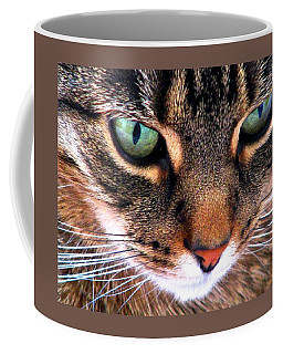 Coffee Mug featuring the photograph Surmising by Angela Davies
