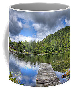 Coffee Mug featuring the photograph Surprise Pond At Palmer Point by David Patterson