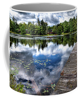 Coffee Mug featuring the photograph Surprise Pond by David Patterson
