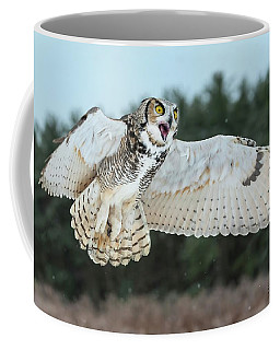 Surprised Coffee Mug by CR Courson