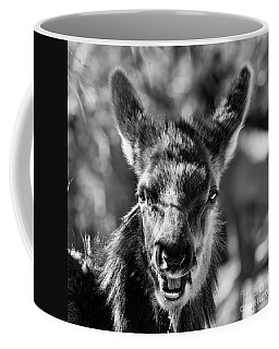 Surprise, Black And White Coffee Mug