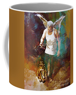 Coffee Mug featuring the painting Surreal Art  by Gull G
