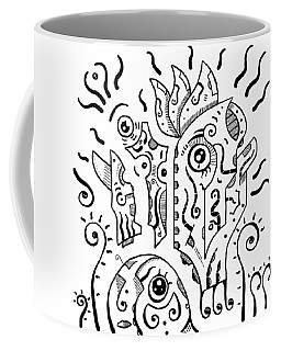 Surrealism Eyes Coffee Mug