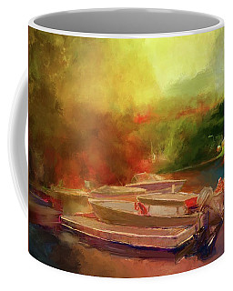 Surreal Sunset In Spanish Coffee Mug
