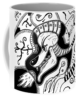 Surrealism Wolf Coffee Mug