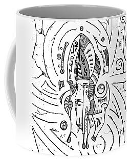Surrealist Head Coffee Mug