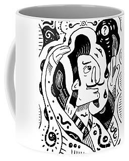 Surrealist Painter Coffee Mug