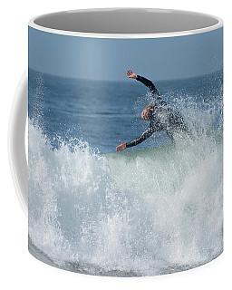 Surrender Coffee Mug by Fraida Gutovich