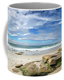 Coffee Mug featuring the photograph Surrounded By Beauty by Peter Tellone